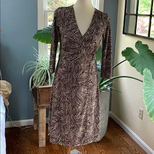 Sigrid Olsen Wrap Dress- size M